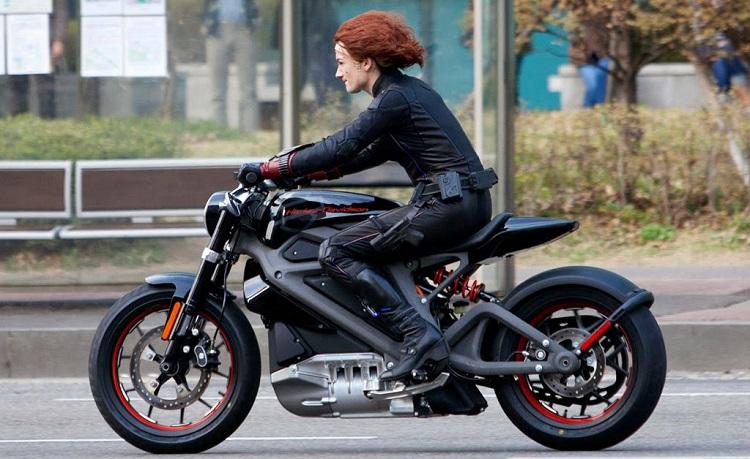Necesita una moto Harley de alta tecnología lista para estrenarse