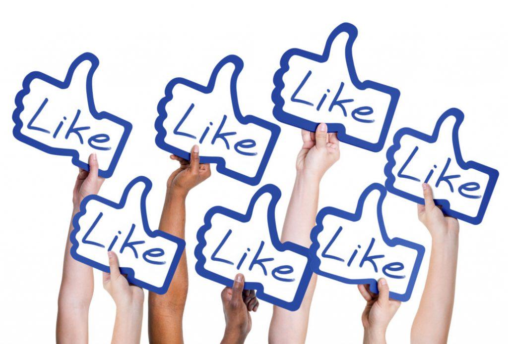 Importancia de likes, acciones y seguidores en redes sociales
