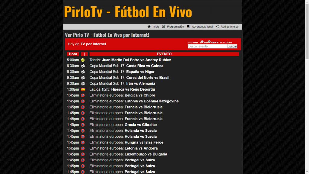 Pirlo TV disfruta gratis del Fútbol en vivo