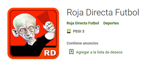 rojadirecta apk