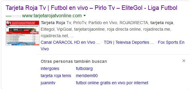 tarjeto roja tv online